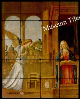 Giovanni Battista Annunciation Religious Fine Art Tiles