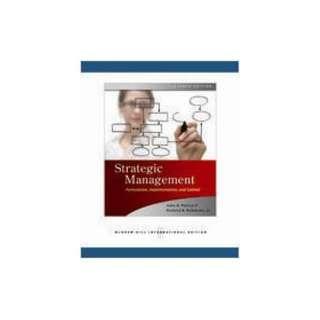 Strategic Management John Pearce 9780071263757  Books