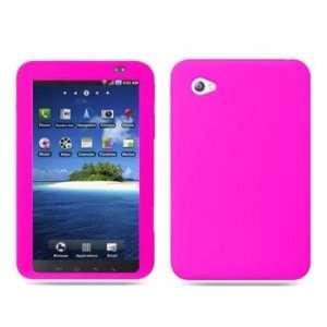 Pink Soft Silicone Case fits Samsung Galaxy Tab