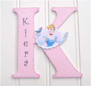 Disney Princess Cinerella Personalised Wall Letter