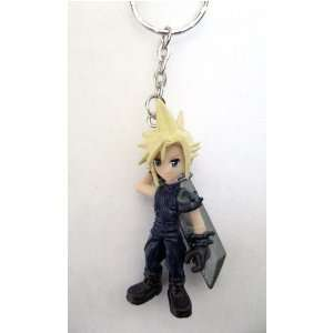 Final Fantasy 7 Cloud Figure Keychain (Closeout Price