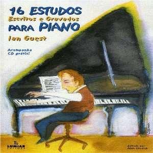 Estudos Escritos E Gravados Para Piano Ian Guest Music