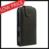 Flip Leather Case Cover For Nokia N8 Mobile Phone Black