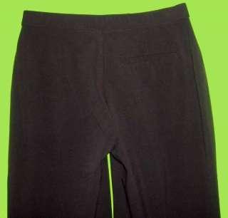 Haggar sz 8 Average Womens Brown Dress Pants 5E29