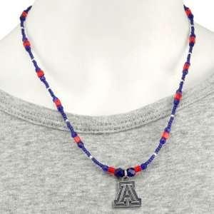 NCAA Arizona Wildcats Ladies One Charm Necklace Sports