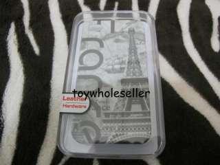 Paris Eiffel Tower Hard Case Cover iPhone 4 Boxset B
