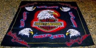 HARLEY DAVIDSON MOTORCYCLES AMERICAN GLORY BANDANA