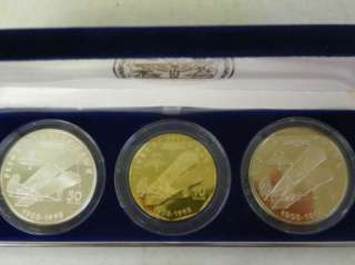 Flight at Kitty Hawk Coins, .999 Fine Silver Marshall Islands C245