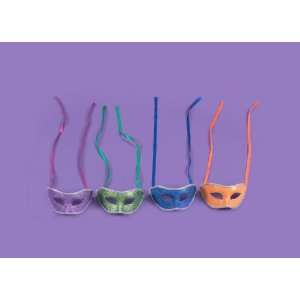 Halloween Masquerade Masks Case Pack 72: Home & Kitchen