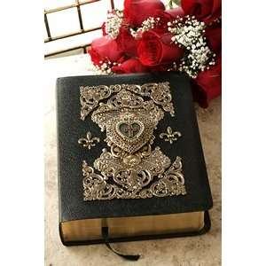 Bible with Heart Locket Ruby Crystals (NAB Catholic): Everything Else