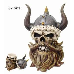 Viking Skull Box: Home & Kitchen