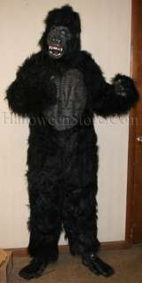 Gorilla Deluxe Ape Monkey Adult Costume Latex Chest