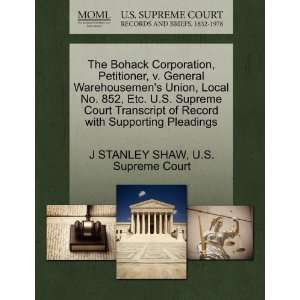 Pleadings (9781270656180): J STANLEY SHAW, U.S. Supreme Court: Books