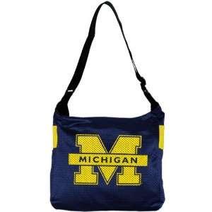 Michigan Wolverines Ladies Navy Blue Veteran Jersey Tote