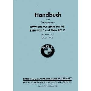 B.M.W . 801 Aircraft Engine Installation Manual BMW 801