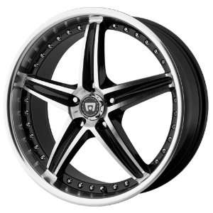 18x8 Motegi MR107 (Gloss Black / Machined) Wheels/Rims
