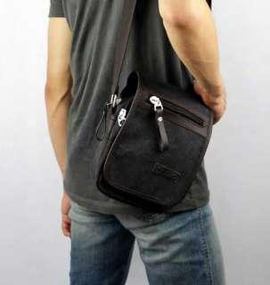 Canvas Shoulder Belt Waist Purse Bag Pack Travel Cellphone Bag
