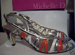 NIB MICHELLE D. WOMENS SHOES SZ 8M HEELS RV69