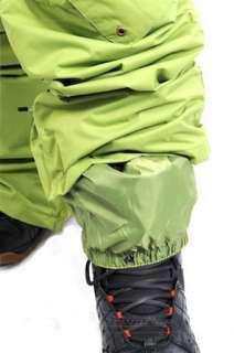 NEW MENS DC DONON SNOWBOARD/SKI PANTS KERMIT GREEN/ XL