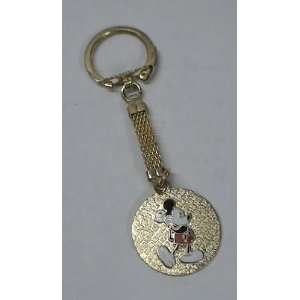 Vintage Enamel Keychain  Disney Mickey Mouse Everything