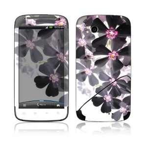 HTC Sensation 4G Decal Skin Sticker   Asian Flower Paint