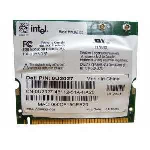 Dell 600M Intel Mini PCI Wireless WiFi Card WM3A2100 U2027