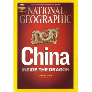 NATIONAL GEOGRAPHIC MAY 2008, VOL 213, NO 5 [COVER STORY CHINA INSIDE