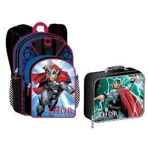 Marvel Thor Backpack with Lunch Box Toys & Games