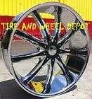 22 Vision Black Wheel Rims Inch Cutlass Regal 5x120 65