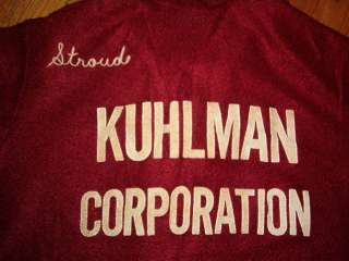 Ladies vintage KING LOUIE BOWLING SHIRT Kuhlman Marilyn