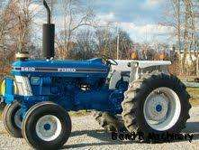 Ford New Holland 5610 Diesel Farm Tractor |