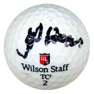 Jay Haas Autographed / Signed Golf Ball