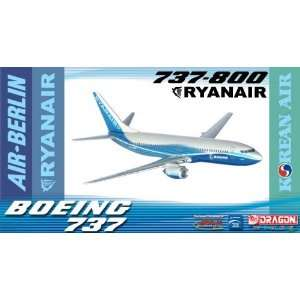 Jet X 1400 Die Cast Ryanair B737 800 Model Airplane