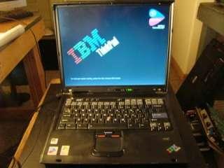 IBM Thinkpad T43 15 Laptop Intel Pentium M 1.86GHZ 2GB RAM no os no