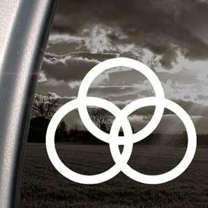 Led Zeppelin Decal Rock Band Truck Window Sticker
