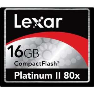 Lexar 16GB Platinum II Compact Flash 80X Memory Card   Frustration
