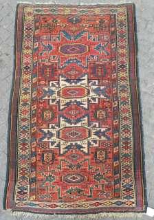 Antique Caucasian Kuba Lesghi Rug, Excellent Original Condition, Full