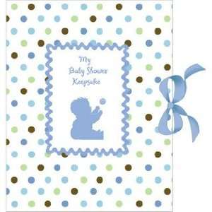 Tickled Blue Baby Shower Keepsake Toys & Games