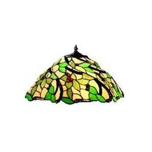 Lighting 43038 Multi Color Glass Merlot Lamp Shades