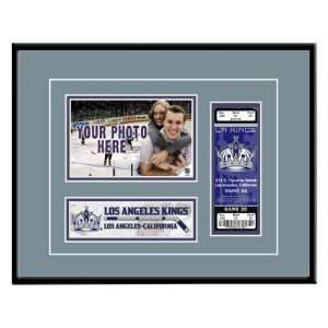 Los Angeles Kings Game Day Ticket Frame Sports & Outdoors