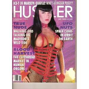 Hustler magazine (Volume 19 #8, Madison ,January 1993 Hustlers Honey)