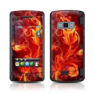 Flower Of Fire Design Protective Skin Decal Cover Sticker