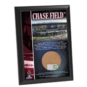 MLB Arizona Diamondbacks Chase Field 4x6 Inch Game Used Dirt Plaque