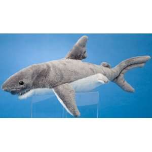 Smiley Gray Shark 12 by Douglas Cuddle Toys Toys & Games