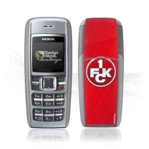 Design Skins for Nokia 1600   1. FCK Logo Design Folie