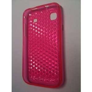 Premium Hot Pink Gel Case for Samsung i9000 Galaxy S / Samsung Vibrant