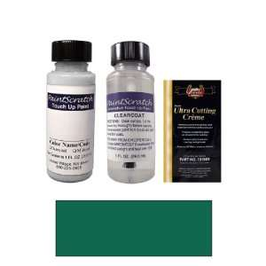 1 Oz. Emerald Green Pearl Metallic Paint Bottle Kit for