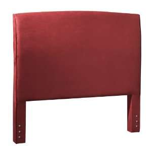 Furniture Avenue Queen Headboard, Carress/Crimson