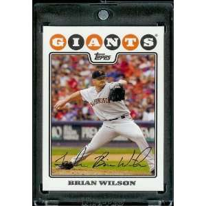 2008 Topps # 397 Brian Wilson   San Francisco Giants   MLB