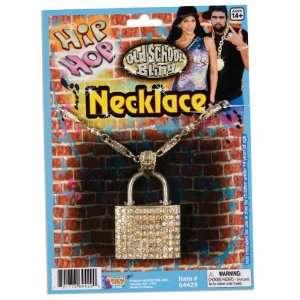 Hip Hop Lock Necklace Accessory [Apparel]